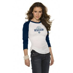 Alyssa Milano's Touch Mariners Shirt