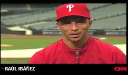 Phillies LF Raul Ibanez