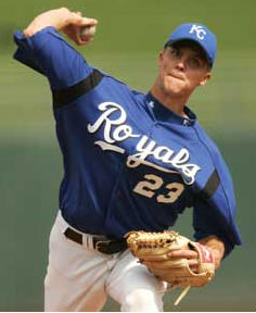 Zack Greinke of the KC Royals