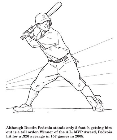 A Review of Hawks Nest Publishings Red Sox Coloring Activity