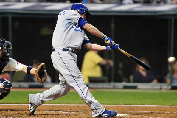 Image of Mike Moustakas taken from Zimbio