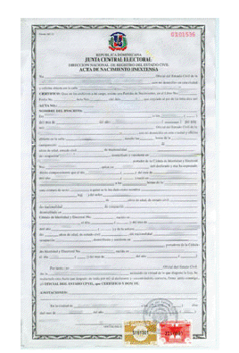 Drsea informer volume iv issue 8 baseball reflections dominican birth certificate yadclub Image collections