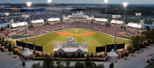 Dr. Pepper Ballpark is home to the Frisco RoughRiders.