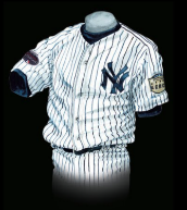 official photos e3db8 5df2d The Evolution of the New York Yankees Uniform - Baseball ...