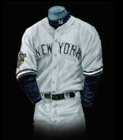 official photos 52c84 2c94c The Evolution of the New York Yankees Uniform - Baseball ...